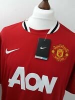 Manchester United Home Football Shirt Jersey 2011 2012 Nike XL Brand New!