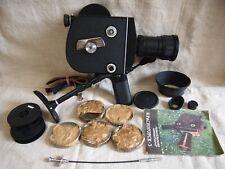 KRASNOGORSK-3 16mm Super16 option Movie Cine Camera Meteor-5-1 17-69mm f1.9 lens