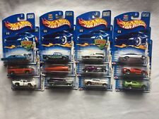 12 New Hot Wheels Cars First Edition Series 2003 Collector No. 013 thru 024