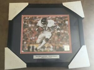 Walter Payton -Sweetness- by NFL size 15 x 13 OFFICIAL NFL PHOTO CHICAGO BEARS
