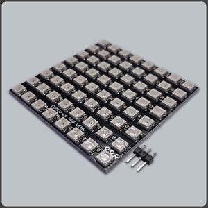 CJMCU 64 Bit WS2812B Digital RGB LED Development Board Panel 5050 5V 8x8
