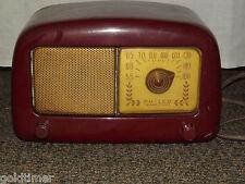 VINTAGE 1940S PHILCO TRANSITONE TABLE TOP RADIO MODEL 48-225