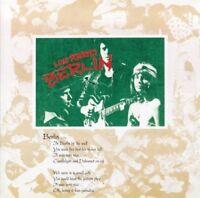 LOU REED Berlin CD BRAND NEW
