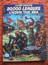 20,000 LEAGUES  UNDER THE SEA ENGLAND  1965  60 + PAGES  HARD COVER