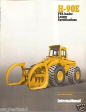 Equipment Brochure - International - IH H-90E - Pay Loader Logger - 1975 (EB893)