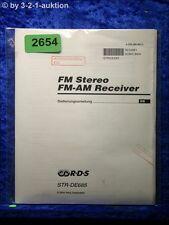 Sony Bedienungsanleitung STR DE685 FM/AM Receiver (#2654)
