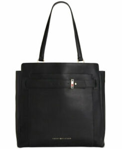 Tommy Hilfiger Emilia Tote Black Large Purse. nwt