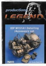 Legend Productions IDF M151A1 Detailing/Accessory Upgrade Set in 1/35 LF 1043 DO
