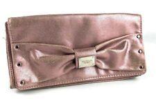 Victoria's Secret Sexy Little Things Tease Noir Purple Bow Make Up Bag Clutch