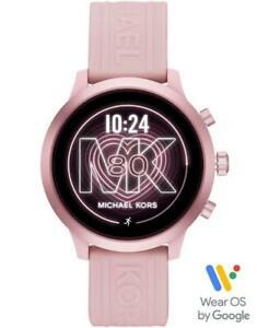 Michael Kors Gen 4 MKGO Touchscreen Pink Heart Rate GPS 43mm SmartWatch MKT5070
