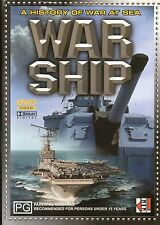Warship A History Of War At Sea DVD - Genuine Australian Release - ExRental