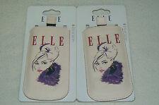 Lot de 2 pochettes de protection ELLE etui fashion pour SAMSUNG GALAXY S 3 mini
