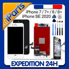 ECRAN LCD VITRE TACTILE IPHONE 7 / 7 PLUS / 8 / 8+ / SE 2020 / NOIR ou BLANC
