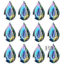 50PCS Rainbow Glass Crystal Chandelier Lamp Part Prism Hanging Drop Pendant 63mm