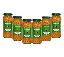 Spanish cooked chickpeas: Garbanzos 570g x 6
