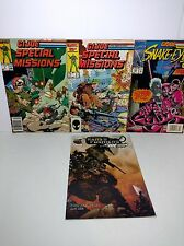 GI Joe ARAH Special Missions Comic Books Lot of 4 from 1986-2003 Transformers