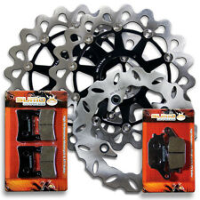 Honda F+R Brake Disc Rotor +Pads RVT 1000 R RC51 VTR 1000 SP SP1 SP2 [2000-2007]