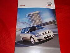 TOYOTA Corolla Basis Luna Sol Executive TS Prospekt von 2004