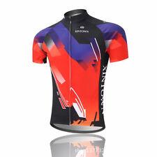 XINTOWN Men Bike Jersey Bicycle Cycling Short Sleeve Jersey Sports Wear Jacket