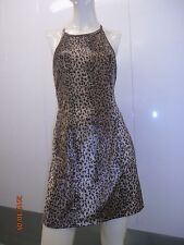90s leopard print slutty dress vintage xoxo short sexy a line animal cave Burner