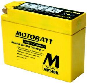 New Motobatt Battery For Yamaha TTR110E Electric Start 110cc 08-14 YT4B-BS