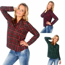 Hip Length Cotton Tops & Shirts for Women with Pockets