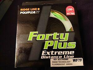 Airflo Ridge Line Polyfuse XT 40+ Extreme Distance Line. WF7F. Fluorescent Green