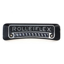 :Rolleiflex 2.8F Camera Name Plate & Light Meter Replacement Part - Works!