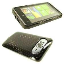 caseroxx TPU-Case for HTC HD7 in black-clear made of TPU