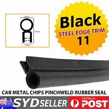 Automotive Industrial Rubber Pinchweld Boot Seal Trim Bubble Metal Carrier 8.5M