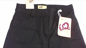 IQ Capris Pants Womens SZ 8-14 NEW 33 x 17 Actual Flap Pockets Cotton Spandex