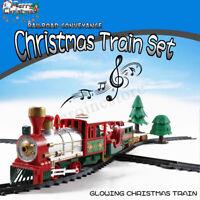 Elektrische Eisenbahn Weihnachtszug-Satz Musik Zug Kinderspielzeug Geschenk