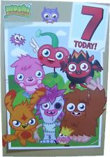 Moshi monsters birthday card age 7 (SEVEN) by Gemma - 203370