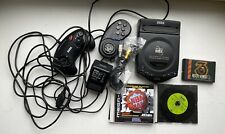 Sega CDX Console With 2 Controllers and Games