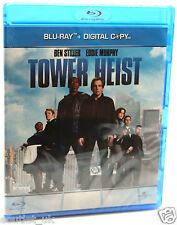 Tower Heist Blu-ray and Digital Copy Region B BRAND NEW