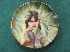"""""""Little Feather"""" Portraits by Perillo Collector's Plate (Artaffects- 1989)"""
