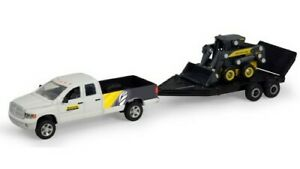 1/64th Dodge Pickup with Trailer and New Holland Skid Steer