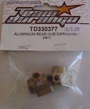Team Durango TD330377 DEX210V2 2wd buggy Hub Carriers Aluminum Rear DEX210