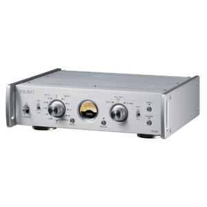 TEAC PE-505 Phono Stage - Silver Compact Pre Amp for MM MC