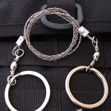 Emergency Survival Gear Steel Wire Saw Camping Hiking Hunting Climbing Gear 1pc