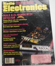 Radio Electronics Magazine Morse/RTTY Detector April 1990 FAL 062315R