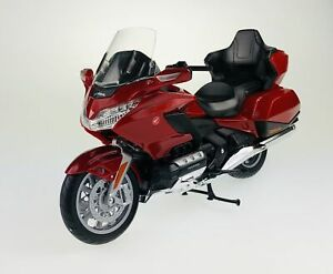 WELLY HONDA GOLD WING TOUR 1:12 21cm DIE CAST MODEL NEW IN BOX MOTORCYCLE