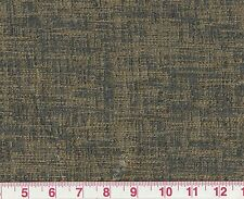 Metallic Gold Upholstery Fabric by American Silk Mills Dazzling in Cl Smoke
