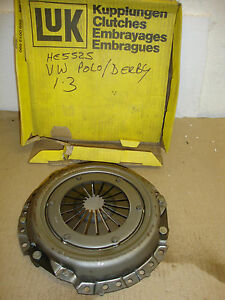 VW DERBY GOLF JETTA POLO 1.3 1981~94 LUK CLUTCH COVER HE5525 119003910  190mm
