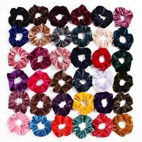 Vintage Hair Scrunchie Hair Rubber Bands Velvet Scrunchie  Elastic Hair Ties
