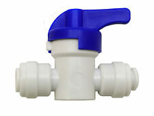 "Finerfilters 1/4"" PF Shut Off Valve Tap For Drinking Water, Reverse Osmosis"