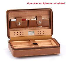 COHIBA Portable Cuban Humidor Case Leather Cigar Storage Box Father Men Gift