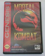 Mortal Kombat Complete Sega Genesis 1993 R6460