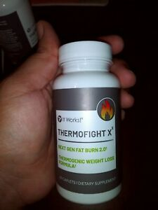 It Works ThermoFight X 60 Capsules Next Gen Fat Burn 2.0  - NEW! SEALED!