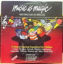 PEGGY PASCAL & JILL HEARN music is magic LP 1982 VG+ PJ-101 Record w/Insert